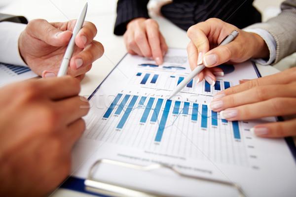 Сток-фото: документы · изображение · человека · рук · ручках · бизнеса