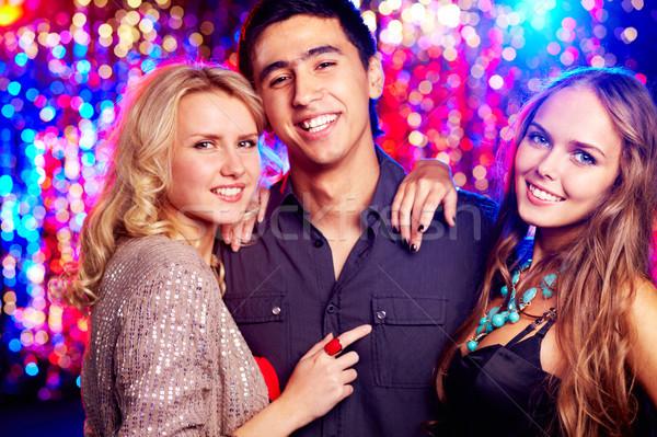 Mädchen guy Bild glücklich Zeit zusammen Stock foto © pressmaster