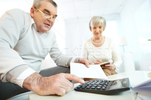 Financial revision Stock photo © pressmaster