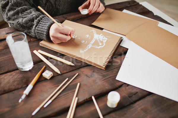 Ideas on paper Stock photo © pressmaster