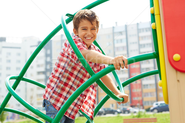 Mutlu delikanlı görüntü sevimli çocuk Stok fotoğraf © pressmaster