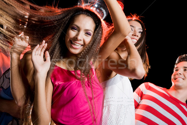 Stock photo: Dancing girl