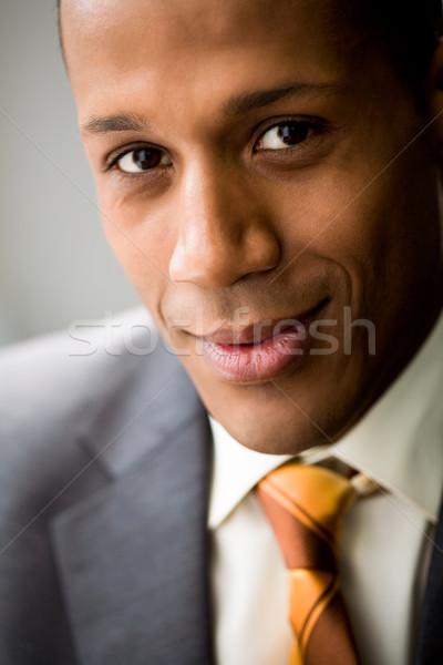Smart werkgever portret geslaagd werknemer Stockfoto © pressmaster