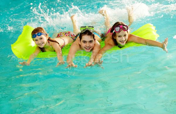 Stock photo: Happy teens