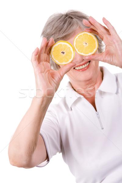 Lemon mood Stock photo © pressmaster