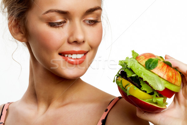 Stock photo: Hungry for vegs