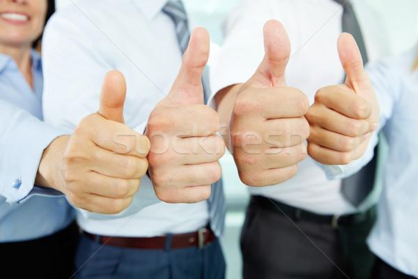 Thumbs up! Stock photo © pressmaster