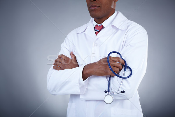 Doctor with stethoscope Stock photo © pressmaster