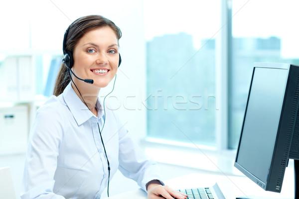Online consultant Stock photo © pressmaster