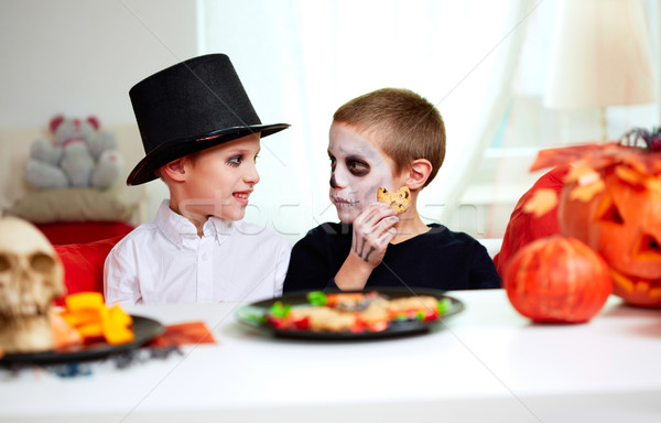 Halloween boys Stock photo © pressmaster