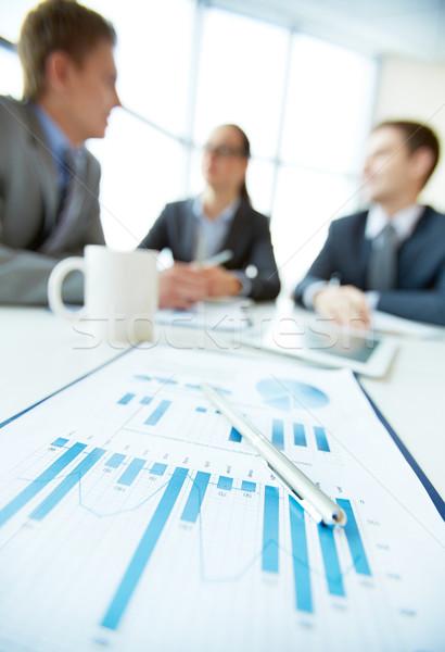 Focus on finance Stock photo © pressmaster
