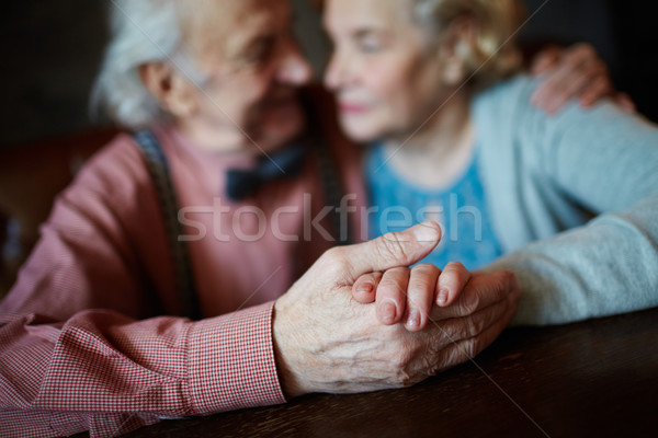 единения старший женщины женщину пару Сток-фото © pressmaster