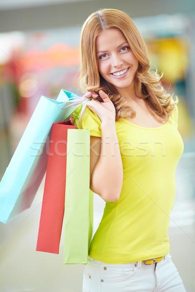 Beautiful shopper Stock photo © pressmaster