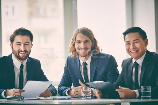 Three entrepreneurs Stock photo © pressmaster