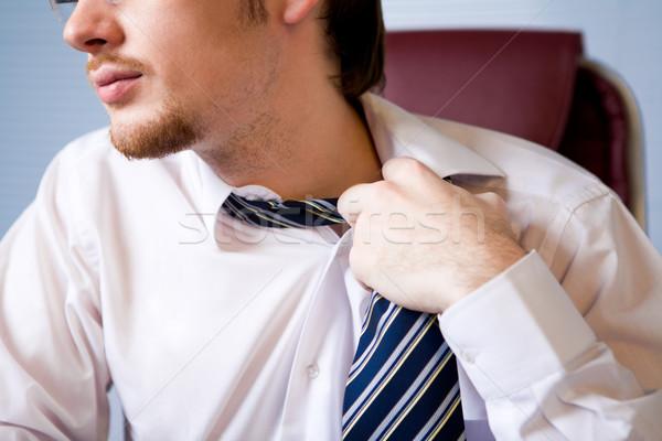 бит комфорт бизнесмен галстук Сток-фото © pressmaster