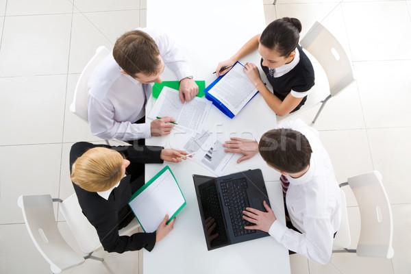 Working meeting Stock photo © pressmaster