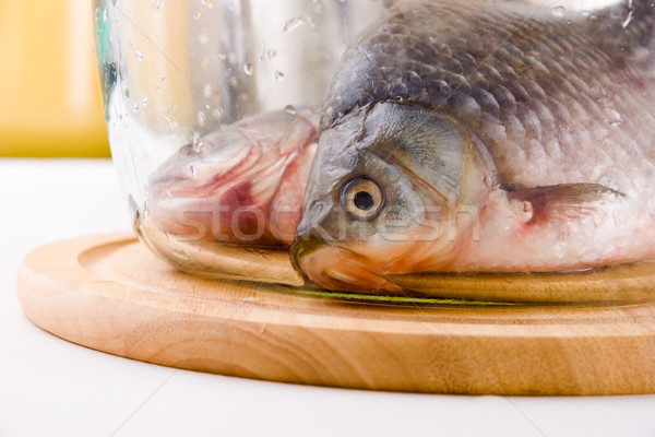 Crucian carp fish Stock photo © pressmaster