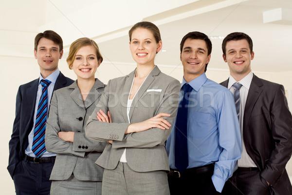 Confident employer Stock photo © pressmaster