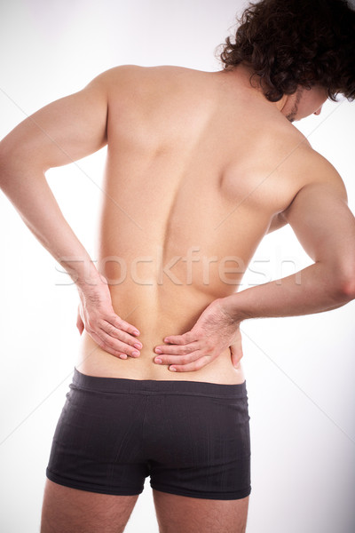 Spinal problem Stock photo © pressmaster