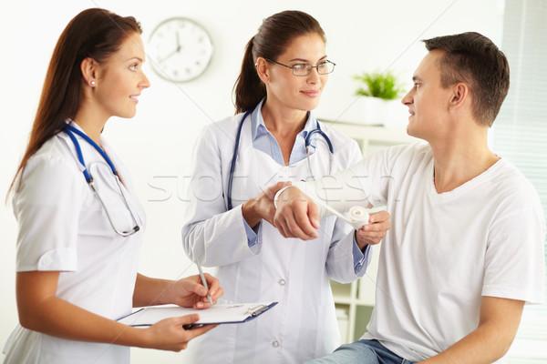 Stock photo: Medical aid