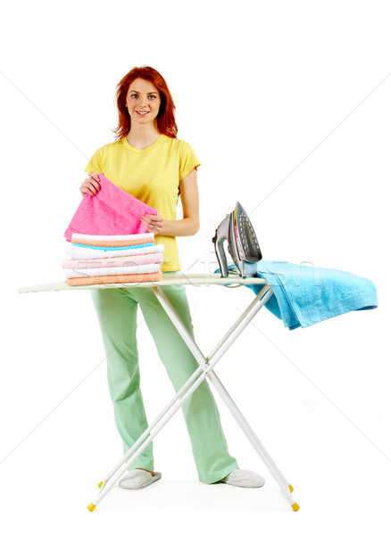 During ironing Stock photo © pressmaster