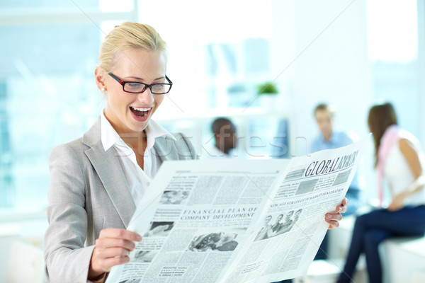 Breaking news Stock photo © pressmaster