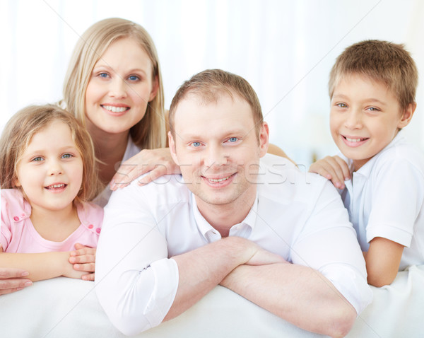 Restful family Stock photo © pressmaster