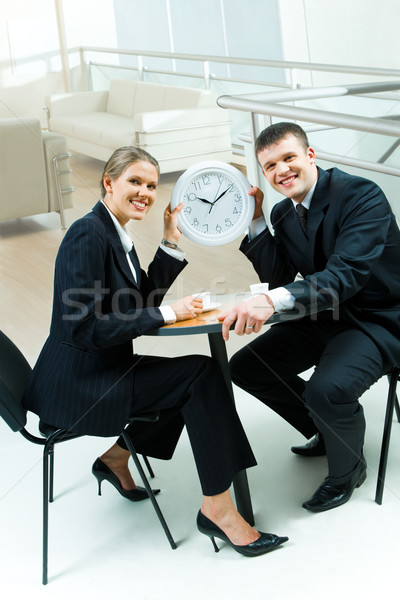 Stock photo: Time for coffee