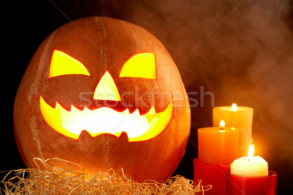 Halloween pumpkin Stock photo © pressmaster