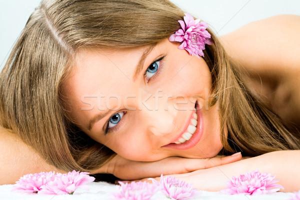 Face of girl Stock photo © pressmaster