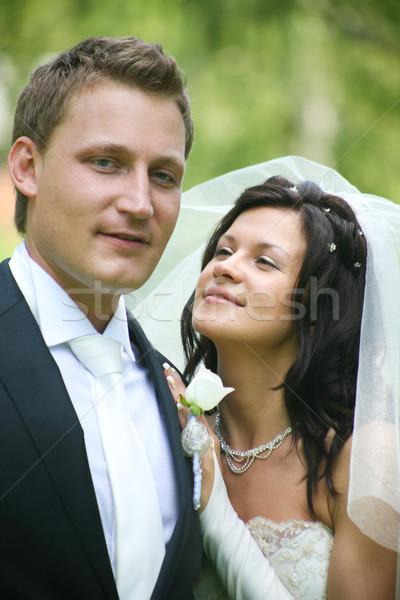 Newly wedded  Stock photo © pressmaster