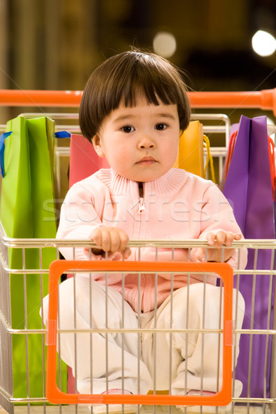 Little shopper Stock photo © pressmaster