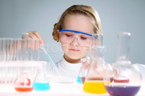 Chemical analysis Stock photo © pressmaster