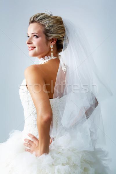 Stock photo: Woman in wedlock