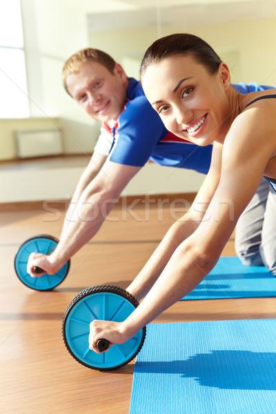 Energetic activity Stock photo © pressmaster