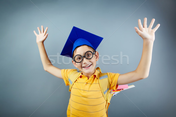 Intelligent boy Stock photo © pressmaster