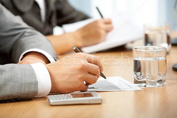 Conference work Stock photo © pressmaster
