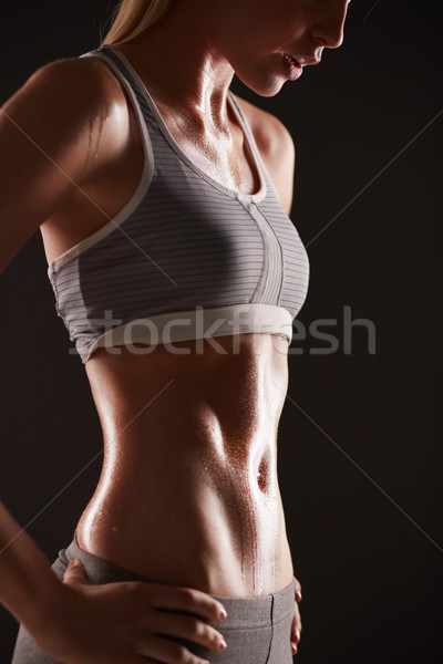 Fit female Stock photo © pressmaster