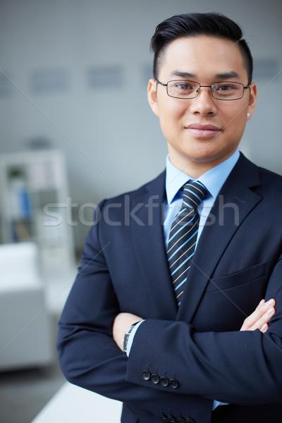 Confident businessman Stock photo © pressmaster