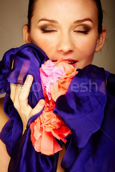 Enjoying senses Stock photo © pressmaster