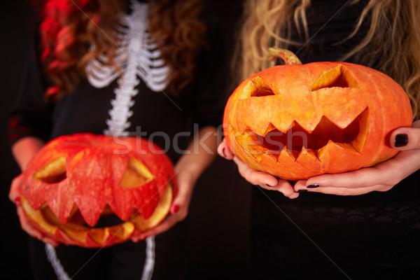 Symbol of Halloween Stock photo © pressmaster