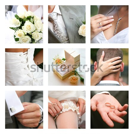Nuptial collage  Stock photo © pressmaster