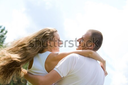 Stock photo: Lovers