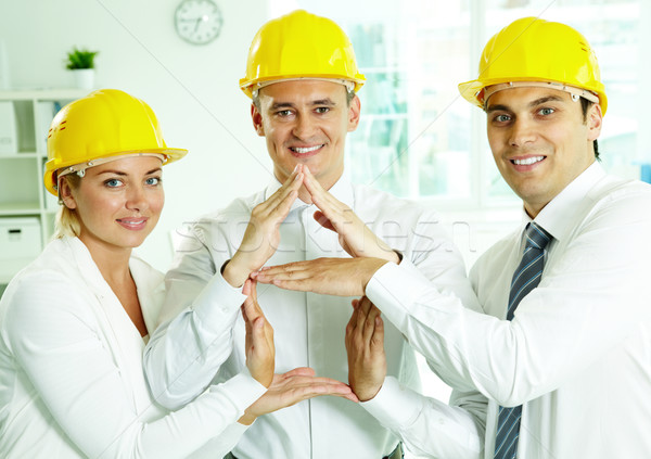 House constructors Stock photo © pressmaster
