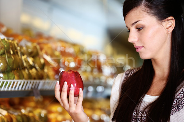 Buying apple Stock photo © pressmaster