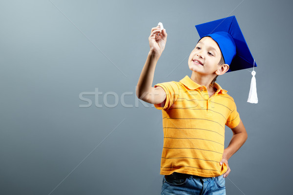 Intelligent pupil Stock photo © pressmaster