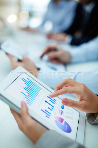 Obtaining statistics Stock photo © pressmaster