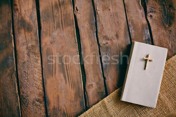 Christian book Stock photo © pressmaster