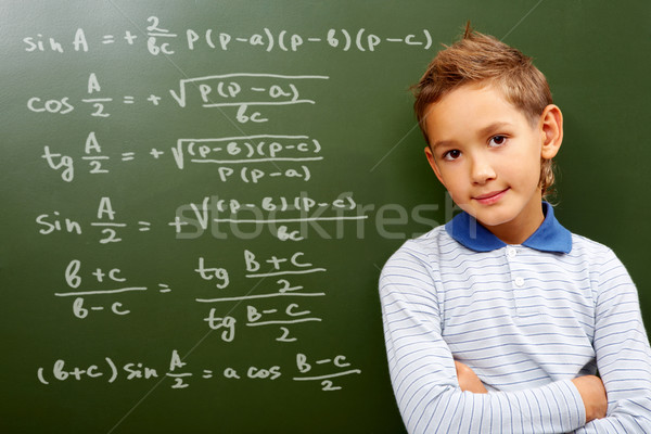 Young mathematic Stock photo © pressmaster