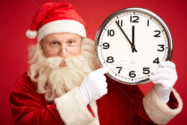 Five minutes to Christmas Stock photo © pressmaster